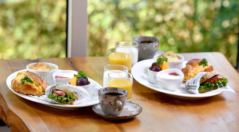 写真:朝食の写真
