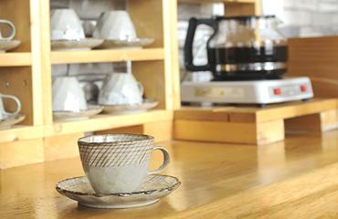 写真:食後のコーヒー