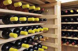写真:ワインの保管